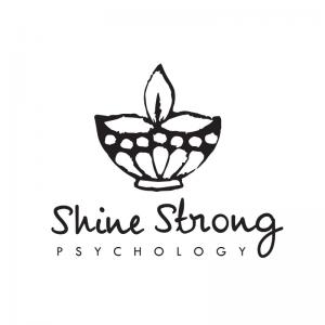 Shine Strong Psychology logo