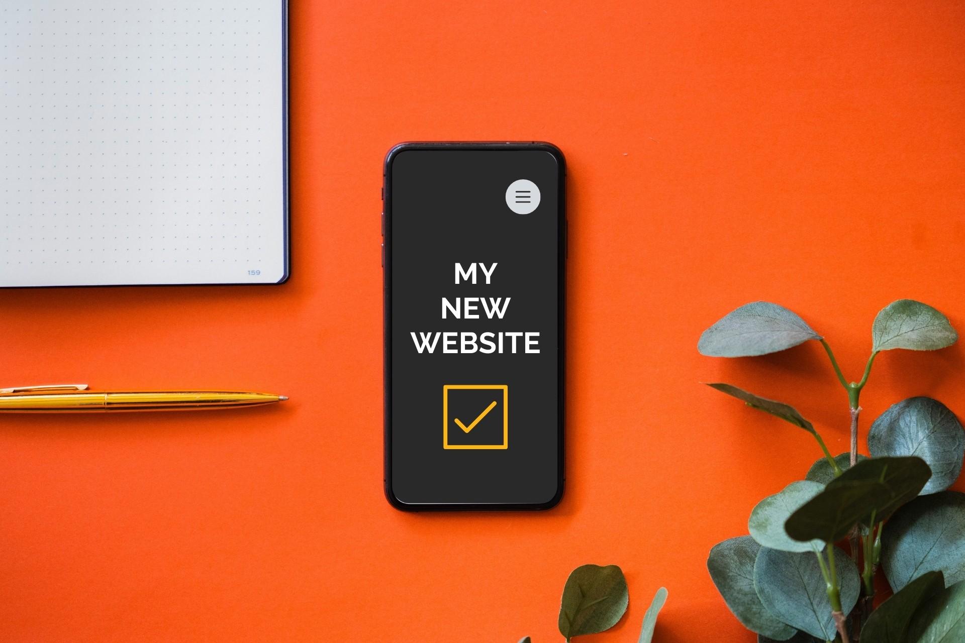 New website checklist from Beaconworth Digital