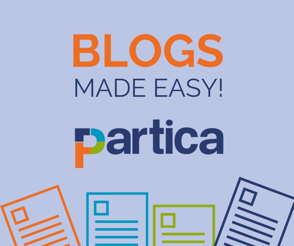 Partica - blogs made easy