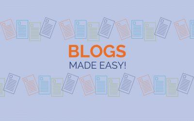 Blogs made easy